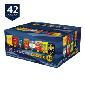 Frito-Lay Classic Mix Mega Size Variety Pack, 42 Count