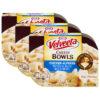 (3 Pack) Kraft Velveeta Cheesy Bowls Chicken Alfredo, 9 oz Sleeve