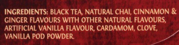 Twinings of London Chai French Vanilla Tea Bags, 20 Ct. 1.41 oz.