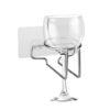 Miarhb Bath & Shower Cup Holder Caddy Wine Cup Holder Beverage Rack Cans Shelf