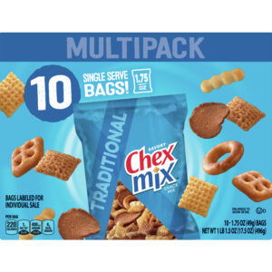 Chex Mix Traditional Savory Snack Mix, 17.5 oz