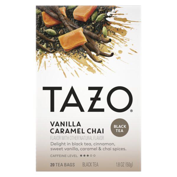 TAZO Vanilla Caramel Chai Black tea 20 Count