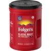 Folgers Classic Roast Ground Coffee, 48-Ounce