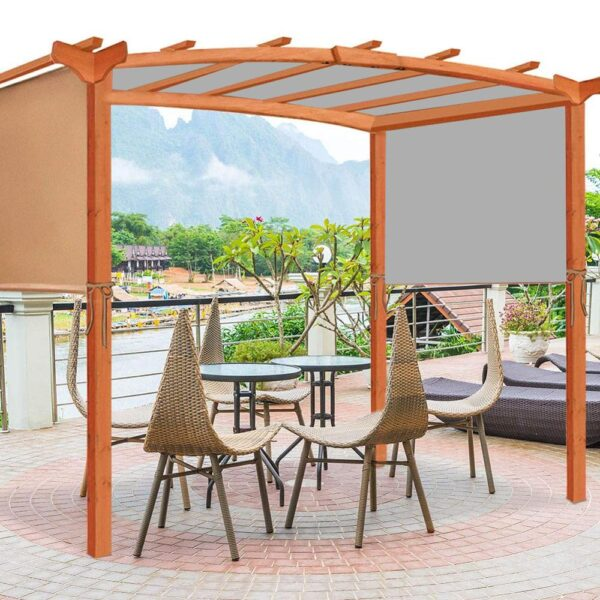 Outdoor Awnings Canopy Cover Sturdy Durable Replacement Awning Sun Shade Universal for Balcony Pergola Structures Tent