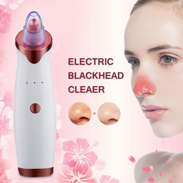 Electric Acne Remover Point Noir Blackhead Vacuum Extractor Tool Black Spots Pore Cleaner Skin Care Facial Pore Cleaner Machine