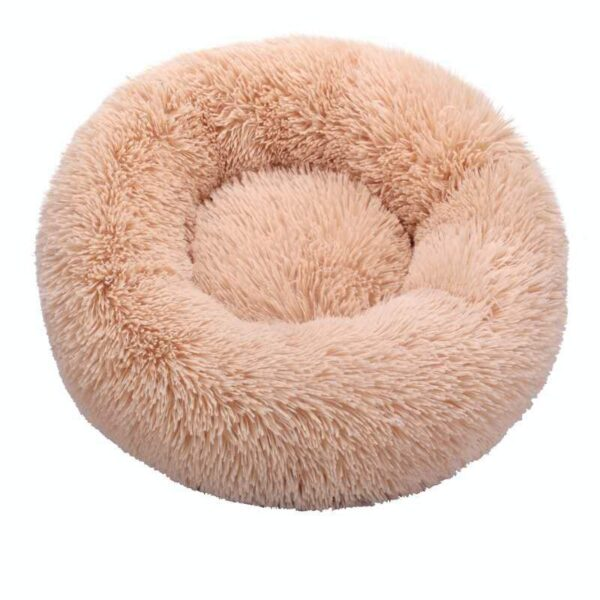 Round Cat Beds House Soft Long Plush Best Pet Dog Bed For Dogs Basket Pet Products Cushion Cat Bed Cat Mat Animals Sleeping Sofa