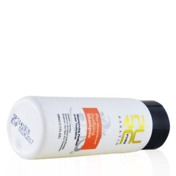 Purc Straightening Hair Repair And Straighten Damage Hair Products Brazilian Keratin Treatment + Purifying Shampoo Hair Care Set