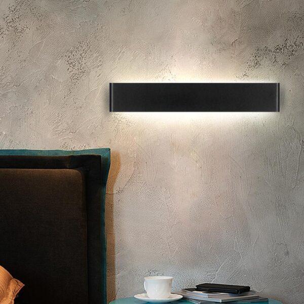 LED Wall Lamp Modern Light Fixture Indoor Wall Sconce Minimalist Stair Bedroom Bedside Living Room Home Hallway 10W 20W Lighting
