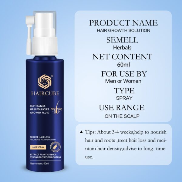 Anti Hair Loss Products Hair Growth Spray Essential Oil Liquid for Men Women Hair Growth Essence Serum Hair Care Repair Growing