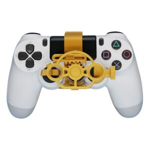 Gaming Racing Wheel Mini Steering Game Controller for Sony PlayStation PS4 3D Printed Accessories