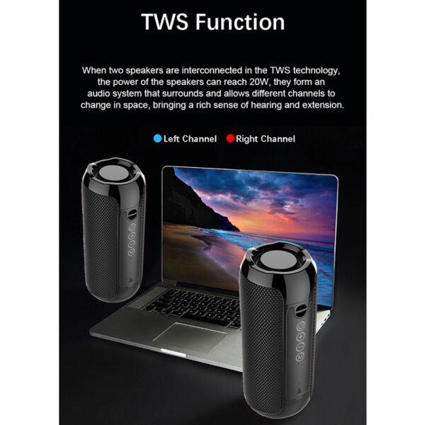 YABA Bluetooth Speaker Portable Wireless Speaker Sound System 3D Stereo Music Surround soundbar TF AUX USB caixa de som