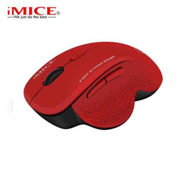 Wireless Mouse Ergonomic Computer Mouse PC Optical Mause with USB Receiver 6 buttons 2.4Ghz Wireless Mice 1600 DPI For Laptop
