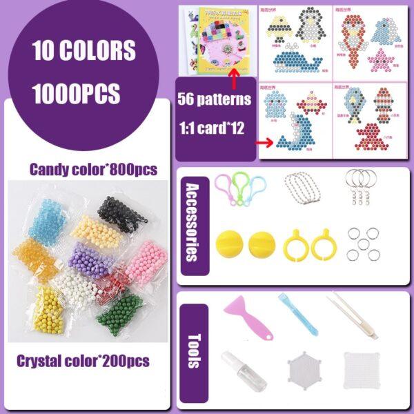 DIY Water Beads Set Toys for Children Montessori Education Brain Magic Box Kids Handmade Toys for Baby Girls Boys 3 5 7 8 Years