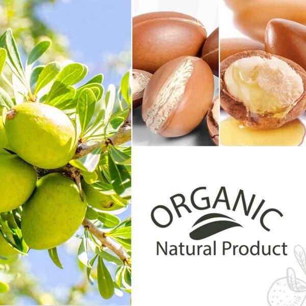 PURC Moroccan argan oil for hair care and protects damaged hair for moisture hair 100ml hair salon products