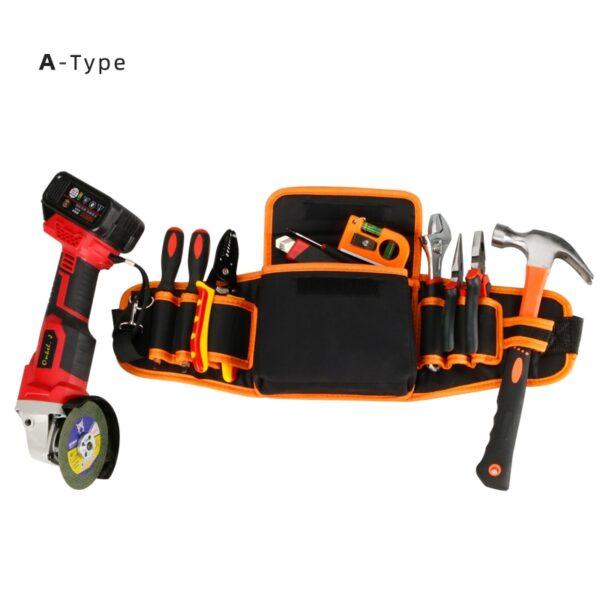 Multi-functional Electrician Tools Bag Waist Pouch Belt Storage Holder Organizer Garden Tool Kits Waist Packs Oxford Cloth