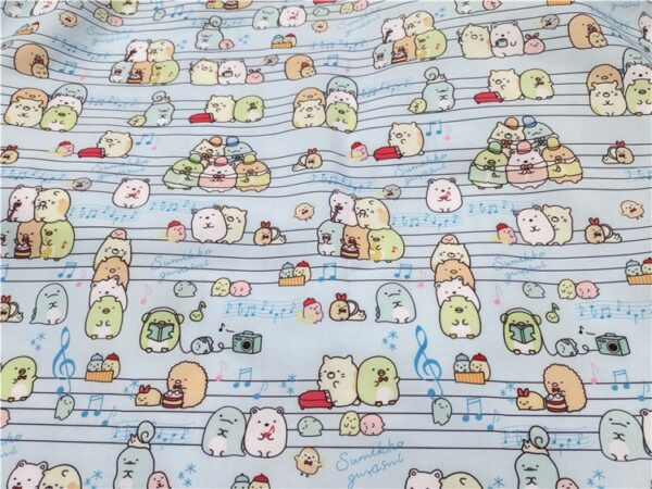 50*140cm Printed Polyester Cotton For Diy Sewing Textile Tecido Tissue Patchwork Bedding Quilting Baby Gament Hat Sheet