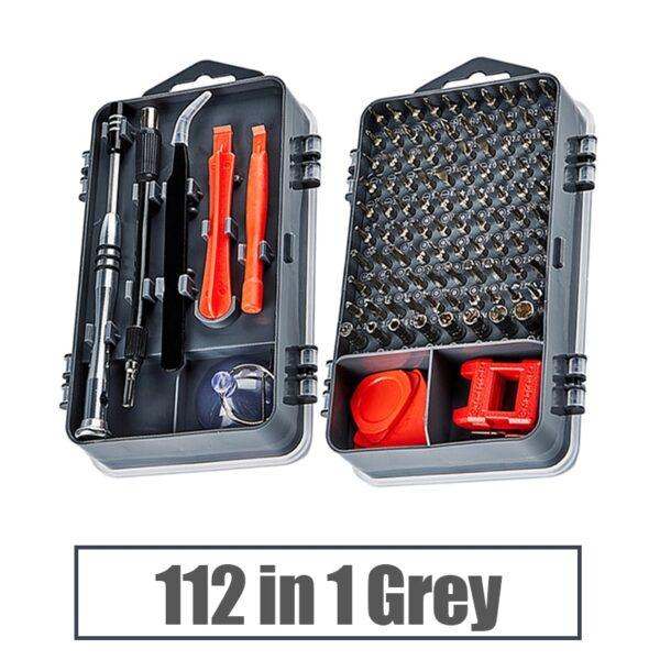 KALAIDUN Precision Screwdriver Set 115 In 1 Screw Driver Bit Magnetic Torx Bits Screwdrivers Handle Phone Repair Hand Tools Kit