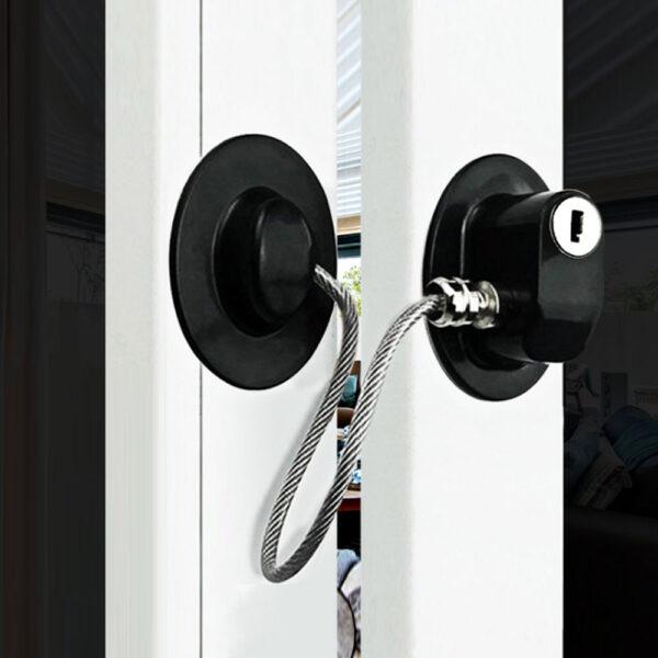 Safety Baby Window Lock children's lockers Door lock Children's Protection Limiter For Windows For Children Under One Year