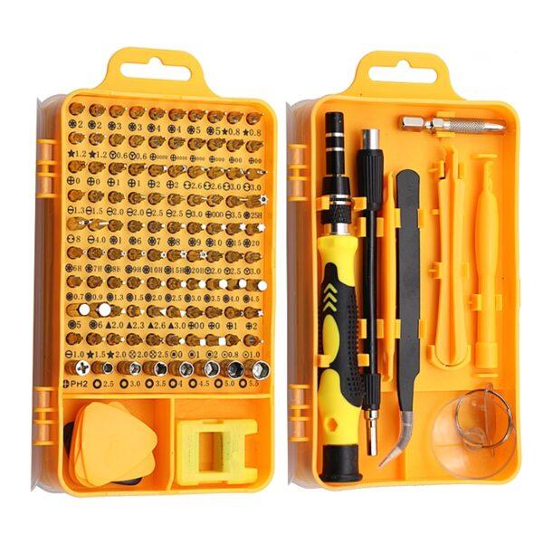 115/25 in 1 Screwdriver Set Mini Precision Screwdriver Multi Computer PC Mobile Phone Device Repair INSULATED Hand Home Tools