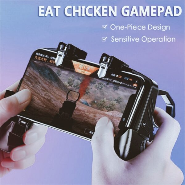 2020 Mobile Phone Gamepad Joystick PUGB Game Shooter Trigger Fire Button For IPhone Android phone gaming controller accessories