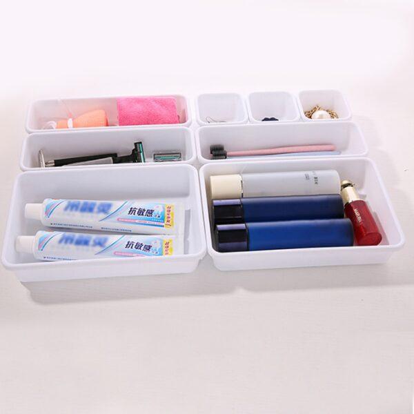 Home Drawer Organizer Box Storage Trays Box Office Storage Kitchen Bathroom Cupboard Jewelry Makeup Desk Organization#1