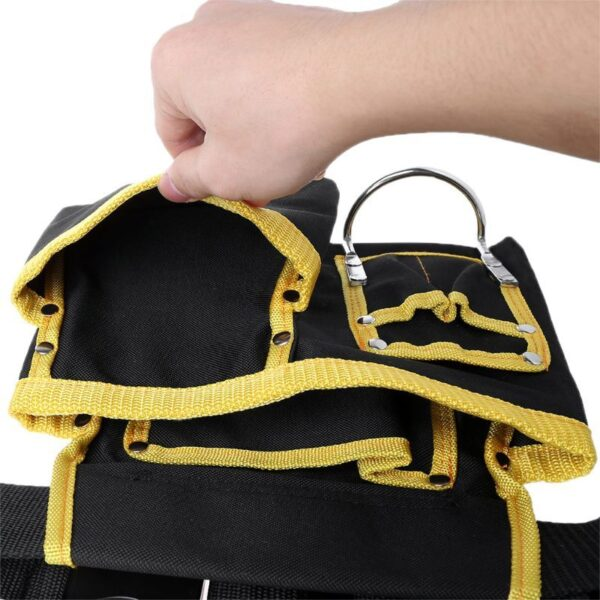 Multi-functional Electrician Tools Bag Waist Pouch Belt Storage Holder Organizer Free Ship