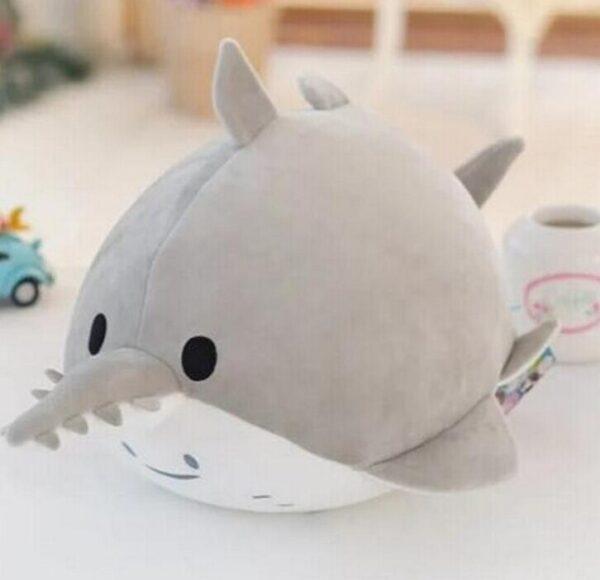 20CM Cute Dolphin Seals Walruses Killer Whales Whale Sharks Plush Toys Ocean Alliance Children Doll Dolls Foam Particles toys