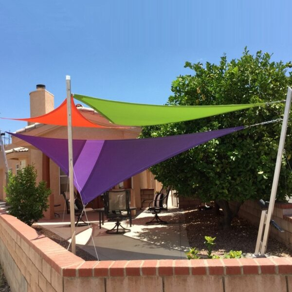 Sun shade sail waterproof shade canopy net toldo canopy outdoor pergola gazebo garden cover awning rectangle square voile soleil