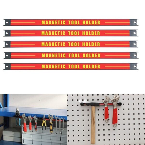 """8"""" 11"""" 14.5""""18"""" 24"""" Magnetic Tool Holder Bar Organizer Storage Rack Knife Wrench Pliers hand Tool Storage"""
