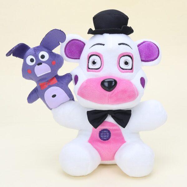 25cm Five Nights At Freddy's FNAF Plush Doll Freddy Bear Foxy Chica Bonnie stuffed Plush Toys Kid Children Dolls Kids toy