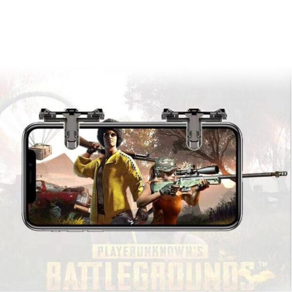 Mobile Cellphone Game Controller Shooting Trigger For PUBG Game Joy Stick Phone Game Assistant Accessories