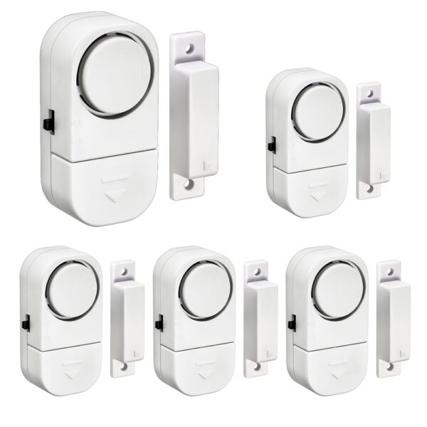 Home Safety Alarm System Standalone Magnetic Sensors Independent Wireless Home Door Window Entry Burglar Alarm Security Alarm