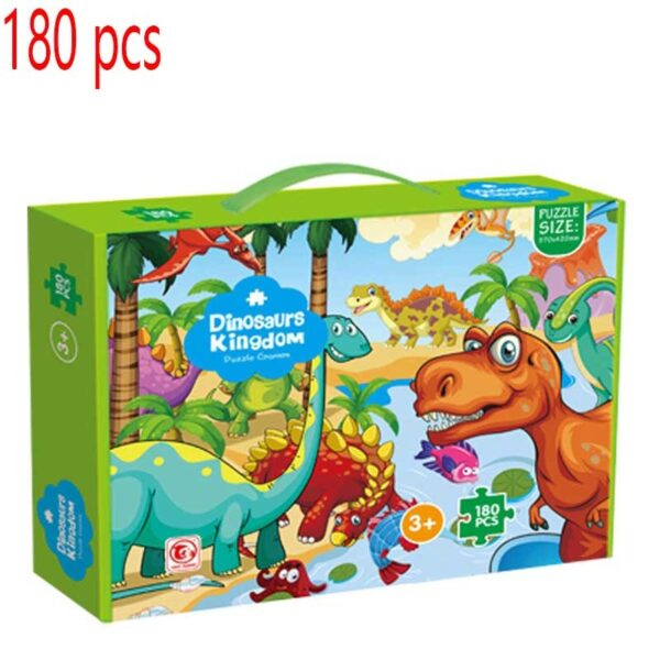 Jigsaw Puzzle 35/45/48/100/180 Piece Montessori Educational Toys Big Box Puzzles For Kids 2 To 4 Years Children's Puzzles Games