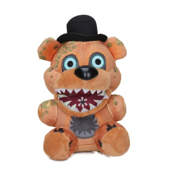 25cm FNAF Freddy Fazbear Plush Toys Five Nights At Freddy's Golden Bear Nightmare Cupcake Foxy Balloon Boy Clown Stuffed Dolls