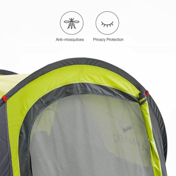 XIAOMI tourist tent naturehike camping tent camping equipment outdoor camping fishing tent hike gazebo 3-4person automatic tent