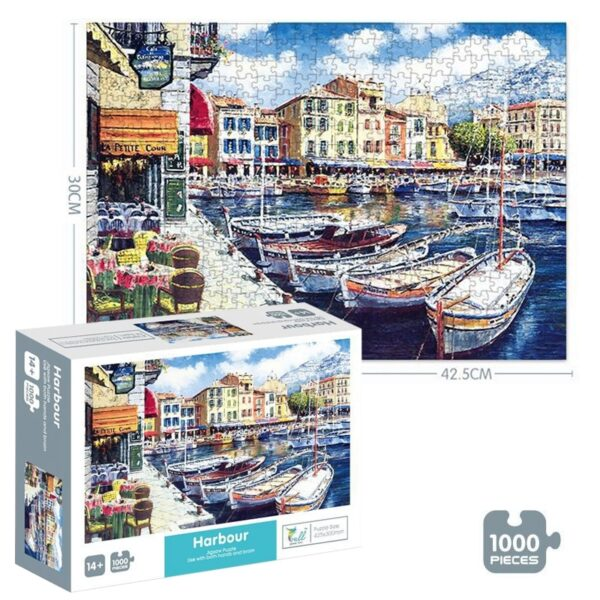 Puzzle 1000 Pieces Adult Puzzle Jigsaw Montessori Parper Puzzles adulto Educational Toys 1000 Pieces Puzzle 3d Antistress Toys