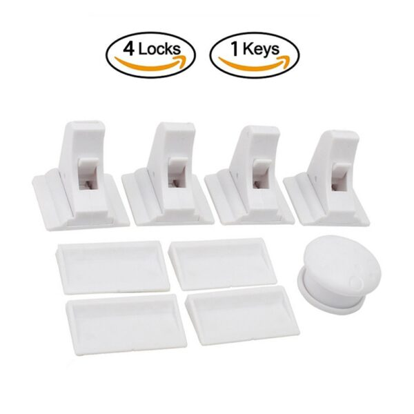 Magnetic Locks Protection From Children Baby Safety Lock Infant Security Locks Drawer Latch Cabinet Door Stopper Lock Limiter