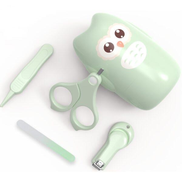 Baby Health Care Kit Newborn Kid Care Baby hygiene Kit Grooming Set Thermometer Clipper Scissor Kid Toiletries for Newborns Baby