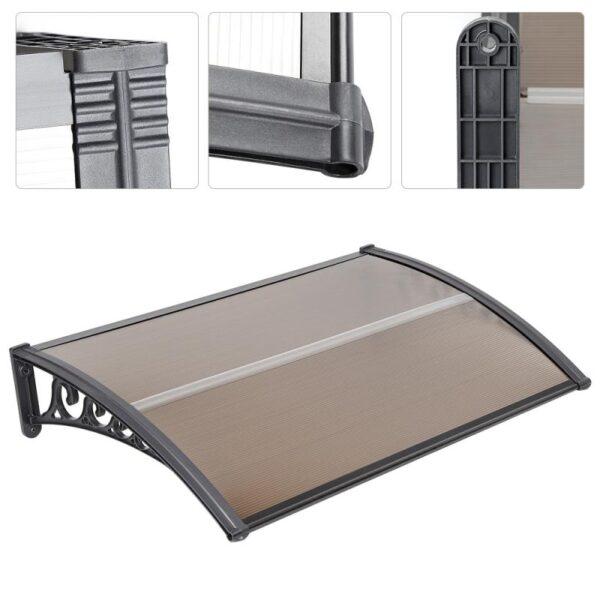1PC Front Door Window Awning Patio Cover Canopy Door Window Awning Gazebos Outdoor Door Canopy Awning Tent Garden Supplies HWC