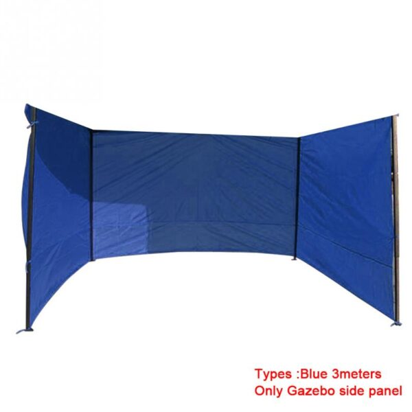 Outdoor Camping Tent Accessories Gazebo Side Panel Durable Sidewall Anti-UV Oxford Cloth