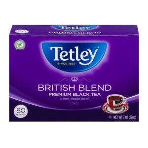 (2 pack) Tetley British Blend Premium Black Tea - 80 CT