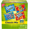Nabisco Classic Mix Variety Pack, OREO Mini, CHIPS AHOY! Mini, Nutter Butter Bites, RITZ Bits Cheese, 20 Snack Packs